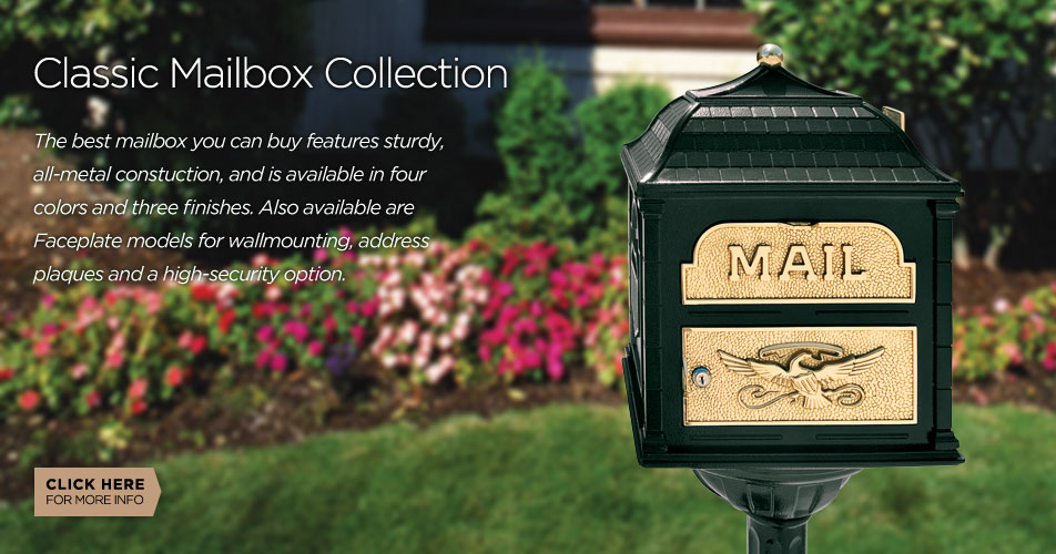 Gaines Manufacturing Classic Mailbox Collection