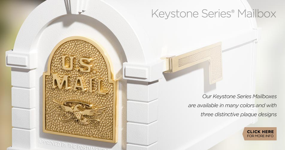 Gaines Manufacturing Keystone Series Mailboxes