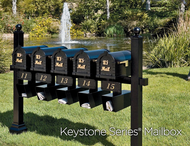 Gaines Manufacturing Keystone Mailboxes