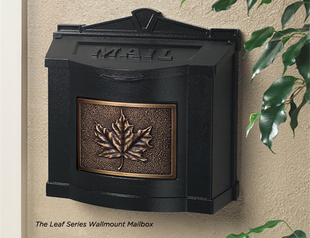 Gaines Manufacturing Wallmount Mailboxes