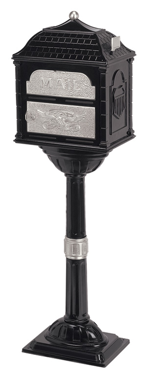 Gaines Classic Mailbox CL-BLK-SN