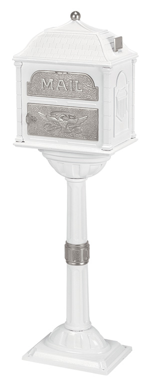 Gaines Classic Mailbox CL-WHI-SN