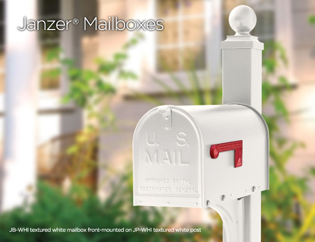 Janzer Mailboxes from Gaines Manufacturing