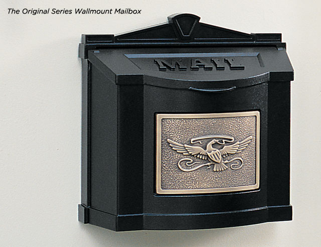 gaines eagle series wallmount mailboxes - Wall Mount Mailboxes