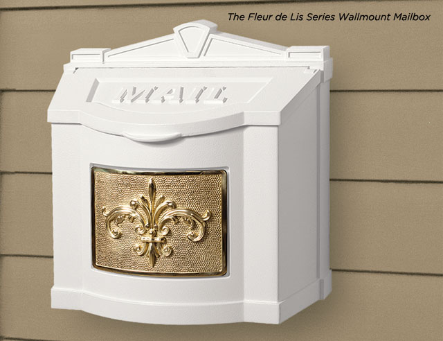 Wallmount Series Mailboxes Gaines Manufacturing